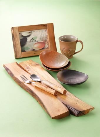 流木盛り皿