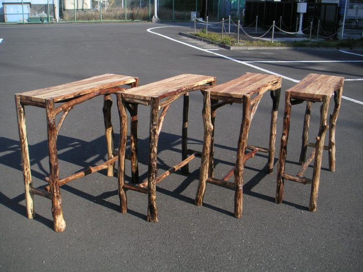 流木テーブル オリジナルタイプ